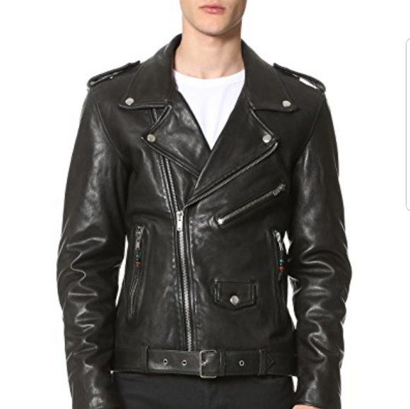 d8b9e96fe BLK DNM Leather Jacket 5